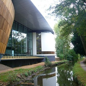 Back of the Royal Welsh College of Music & Drama, Cardiff
