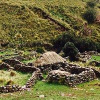 Small farmhouse you'll come across.