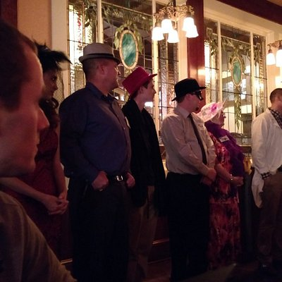 My son was selected as a suspect. He was the very handsome, Enrique Estrada! (red hat)