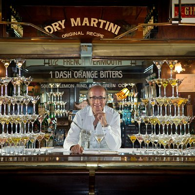 Dry Martini By Javier de las Muelas Barcelona Cocktail Bar