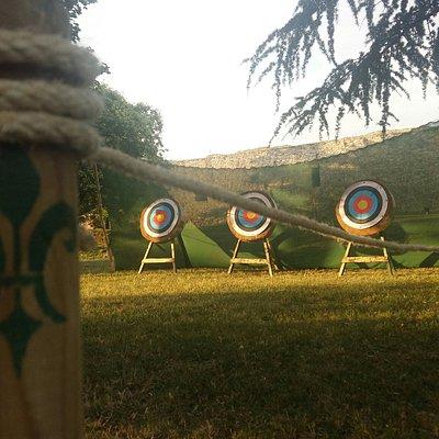 Archery in Kalemegdan park