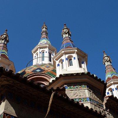храм в Ллорете-купола