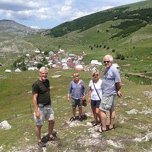 Lukomir village tour