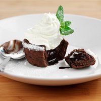 Chocolate melt in the middle pudding