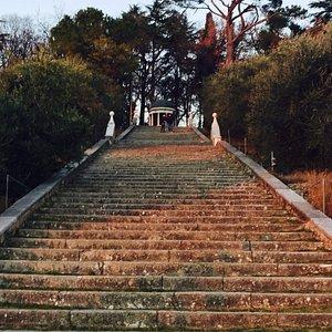 La grande scalinata