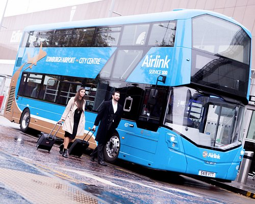 Airlink (Service 100) is Edinburgh's dedicated express service between the Airport and City Cent