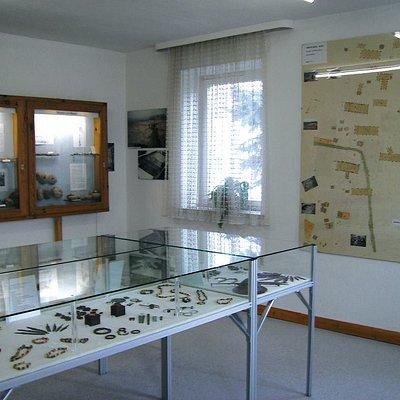 Innenraum des Museums