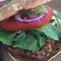 The Proper Whopper - plant based burger