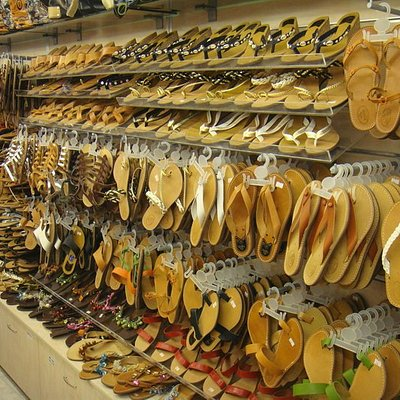 Collection of greek hand made sandals