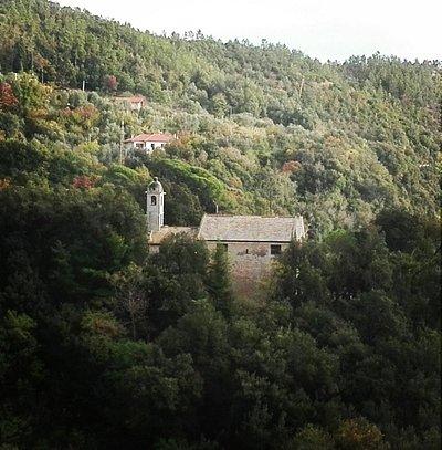 Vista dalla collina accanto