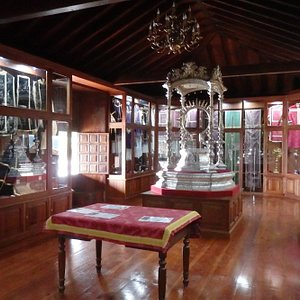 Ecclesiastical items in church's Sacred Museum
