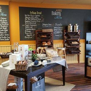 Alfred's gourmet foods market.