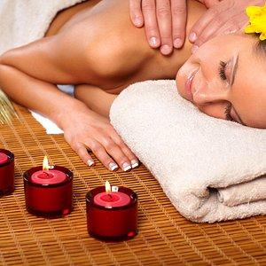 Pure relaxation enjoying thai aroma massage