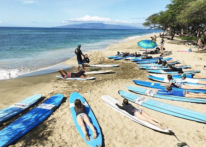 16 person retreat surf lesson