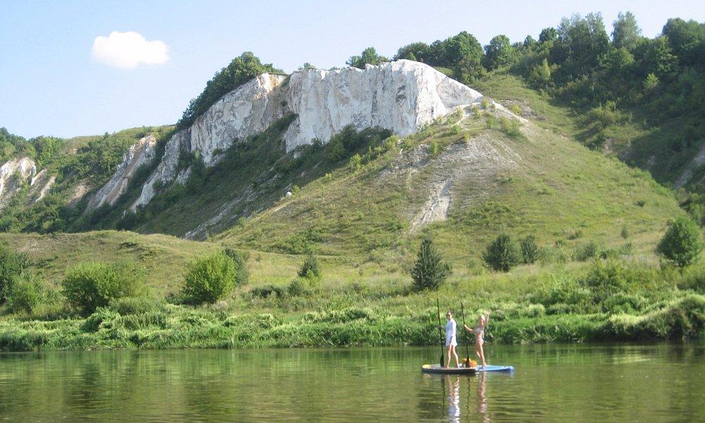 Меловая гора на реке Дон