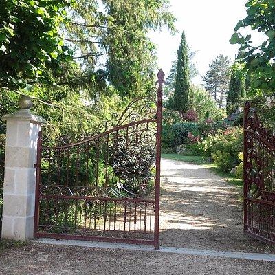 Entrée du Jardin de Boissonna