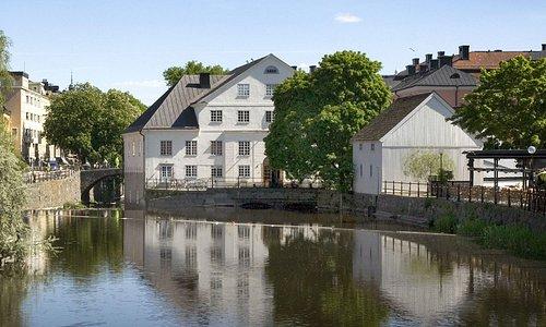 Upplandsmuseet mitt i Uppsala
