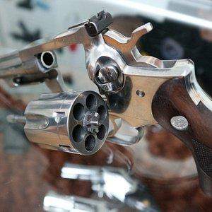 38口径の銃