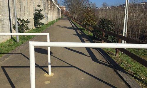 Zona de atividade física para os amantes do desporto numa extensão de 40 km.