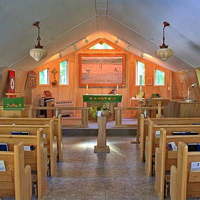St. Edmund's Anglican Church, Tobermory - Inside