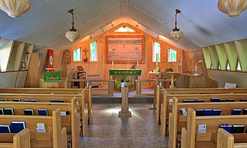 St. Edmund's Anglican Church, Tobermory - Inside