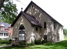 St. Peter's Lutheran Church, Wiarton - Outside