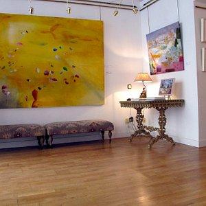 Imagen de una de las exposiciónes recientes.