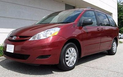 This is our minivan for 5-6 people