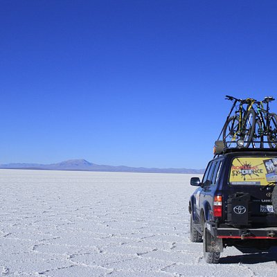 Salar de Uyuni- by Bicycle whit Nomada Experience.