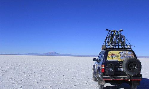 Salar de Uyuni- by Bicycle whit Nomada Experience.