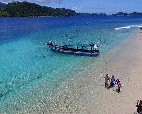 sirandah island beach
