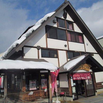 建物の正面