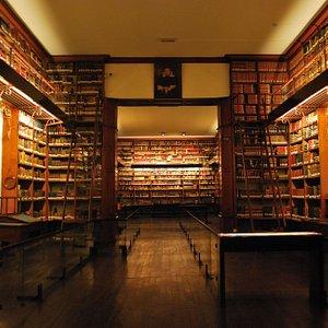 Interior Biblioteca Patrimonial Recoleta Dominca