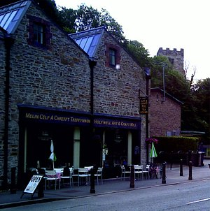 Mill on the Hill Cafe at Holywell Art and Craft Mill