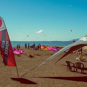 KBC Sizilien: Mittagspause im schattigen Zelt.