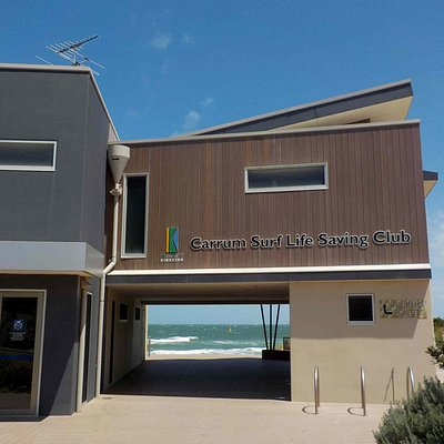 Lifesaving Club Building with Toilets