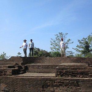 Palace ruins at Sri Ksetra WHS