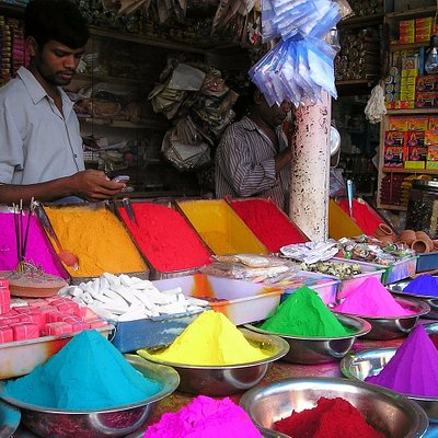 India is the country of colors