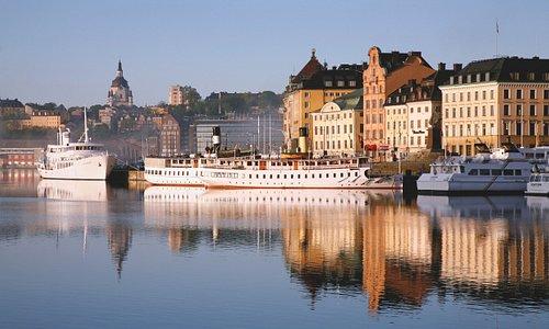 Skeppsbron, Stockholm. Photo Ola Ericson/imagebank.sweden.se