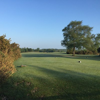 View of the 1st Tee at New Forest Golf Club