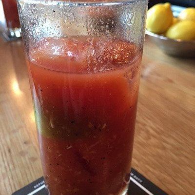Bloody mary -- all fresh ingredients
