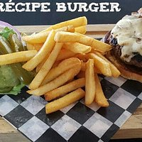 Try our delicious secret recipe burger. SOOOO YUMMY!