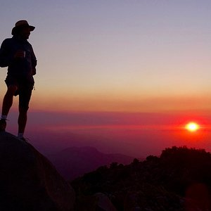 La Linda Loma - Rando au coucher de soleil