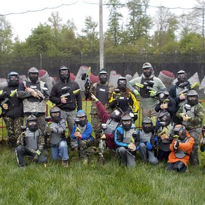 Low Impact Paintball Party