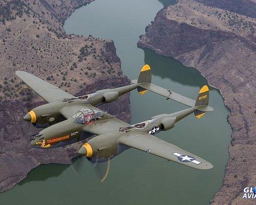 """P-38 Lightning """"Tangarine"""""""