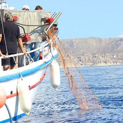 pulling nets