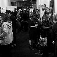 Opening night at Printmaker Gallery