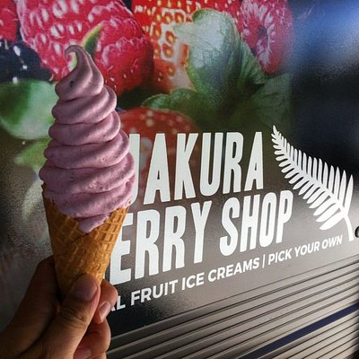 ice cream and signage