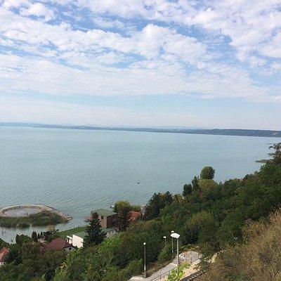 Balatonvilágos - Panoráma partszakasz