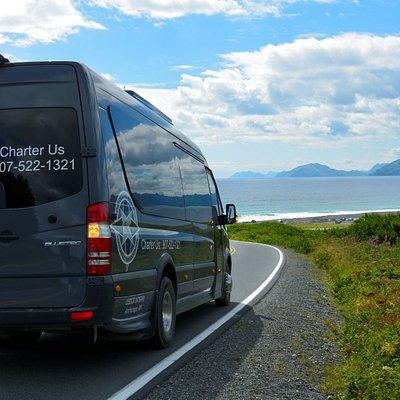 Kodiak Island near the end of the Island road system!